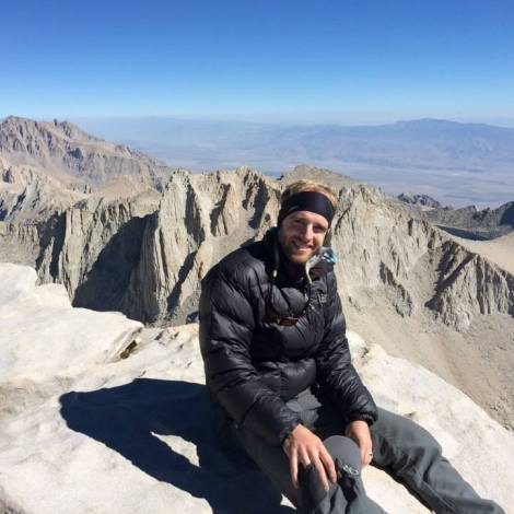 Myself on Mt. Whitney - Highest peak in the lower 48