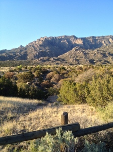 A look at Sandia Peak from the Elena Gallegos picnic area