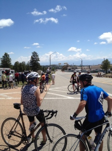 Los Alamos sure has some cycling fashion!