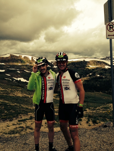 Doug and I at the top of Loveland Pass