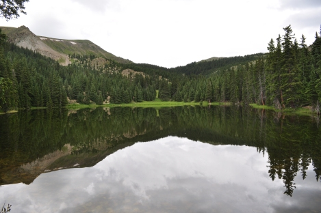 Heart Lake in the Latir Peak Wilderness